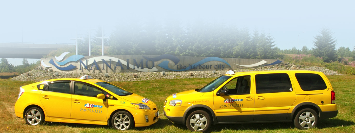 Trusted Name for Nanaimo Taxi in BC