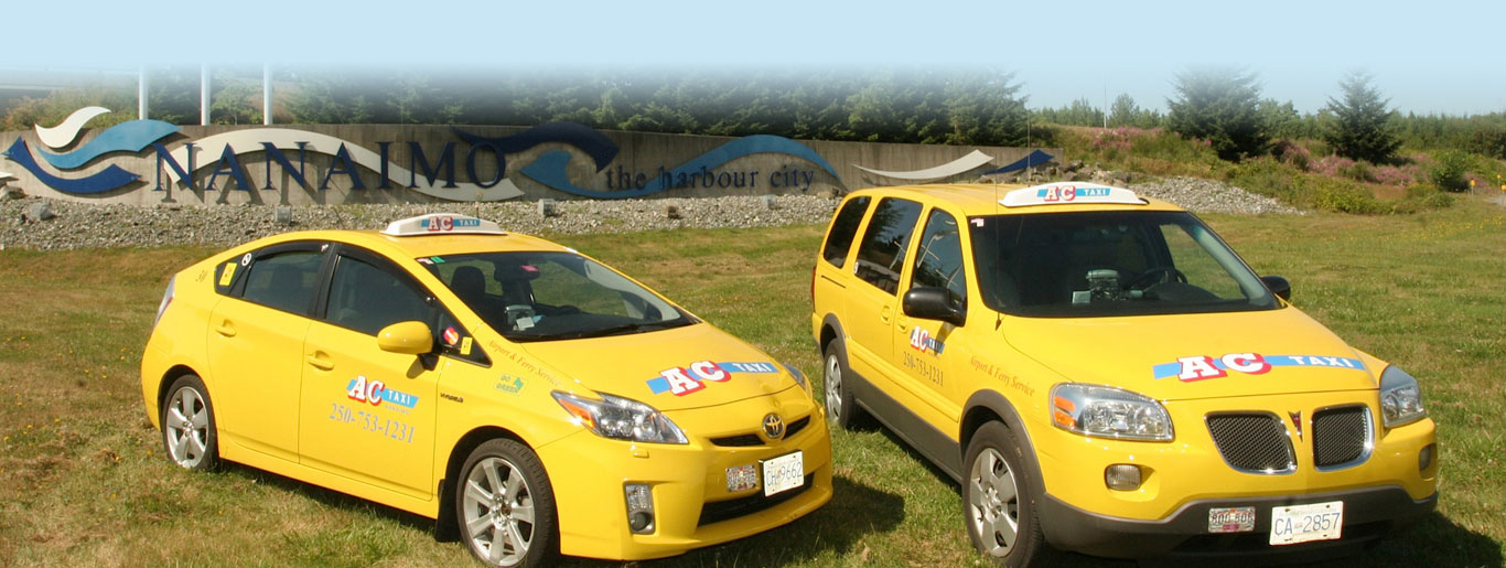 Book Online or Call Now For Nanaimo Taxi